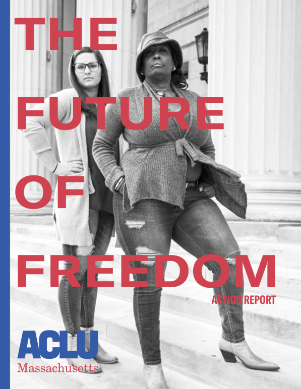 ACLU of Massachusetts clients Herschelle Reaves and Nicole Westcott
