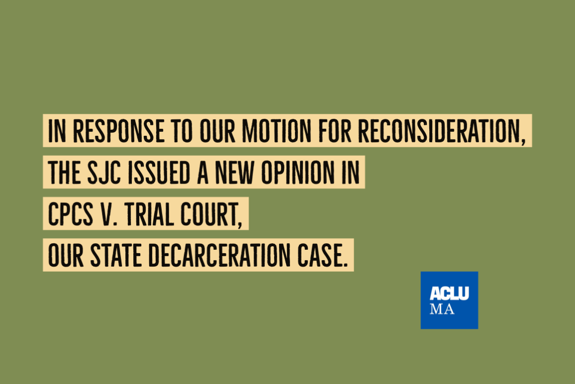 CPCS v. Trail Court UpdateUpdate