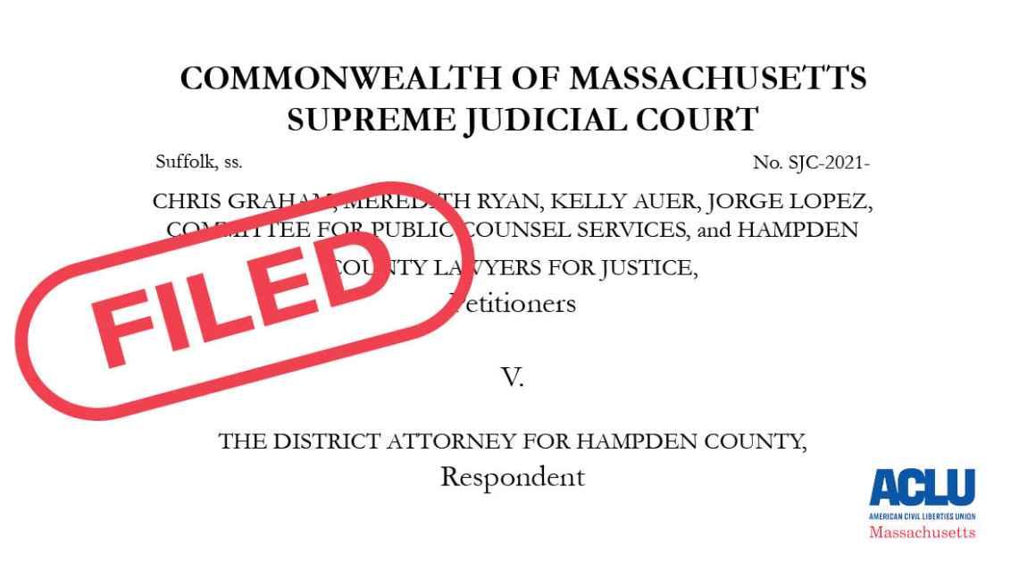 FILED: Graham et al, v. District attorney for hampden county