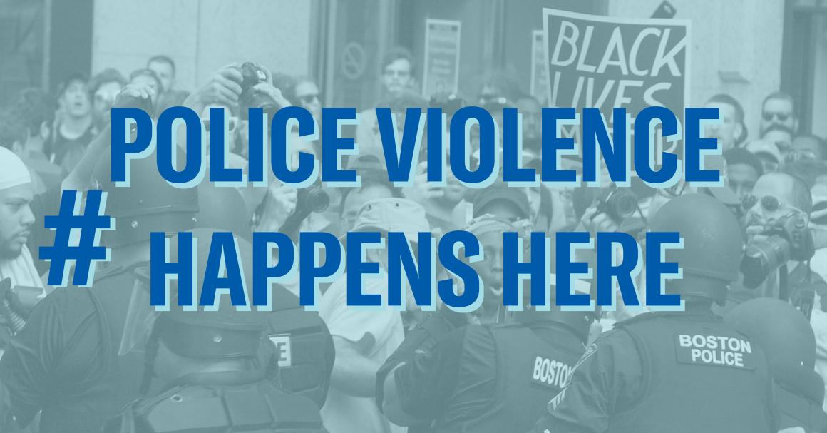 #PoliceViolenceHappensHere