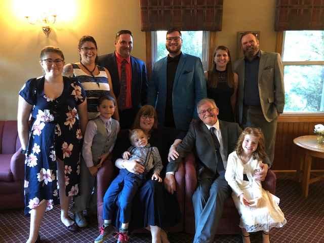 Niberd Abdalla and family