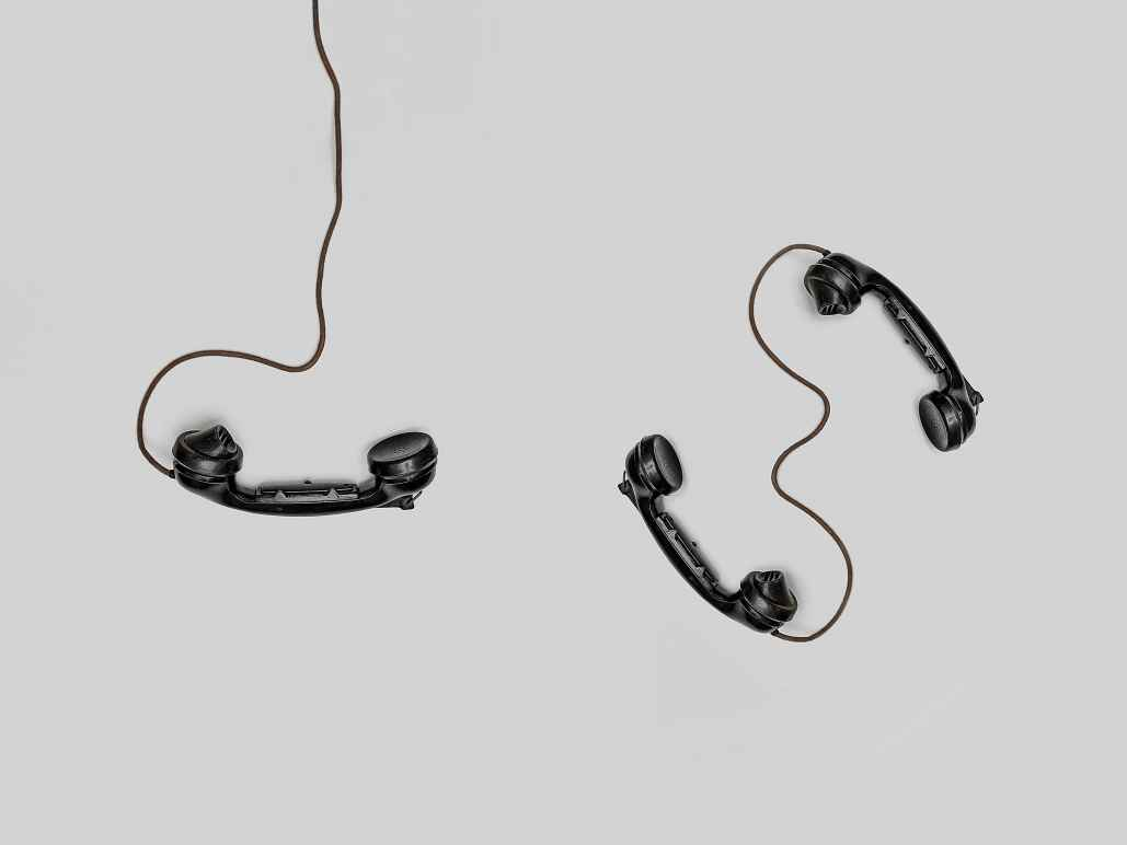 three wired phones