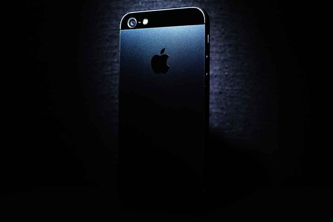 Black iPhone Stock