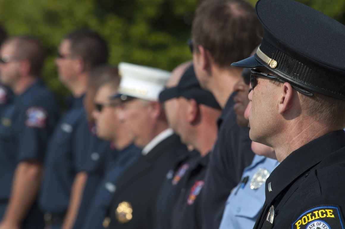 Police Officer Stock