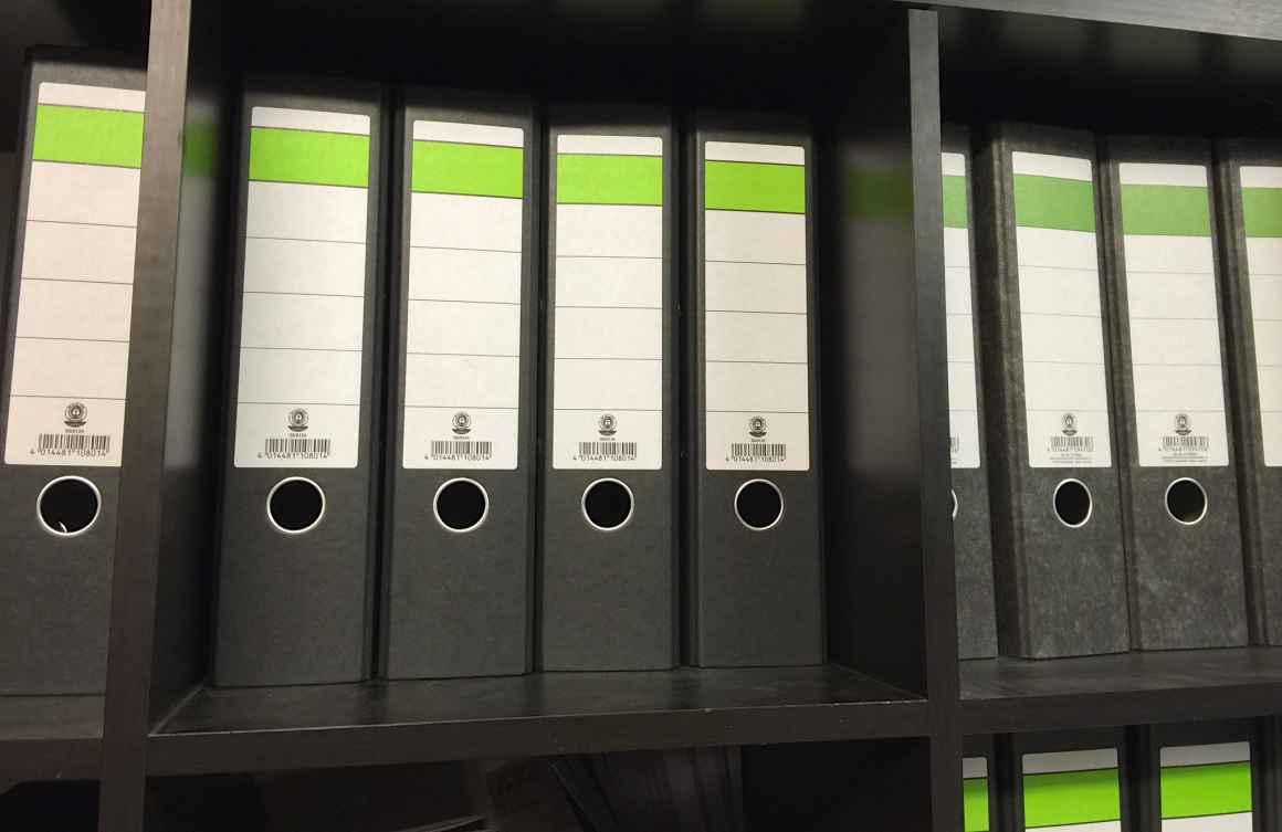 Binder Folder Stock