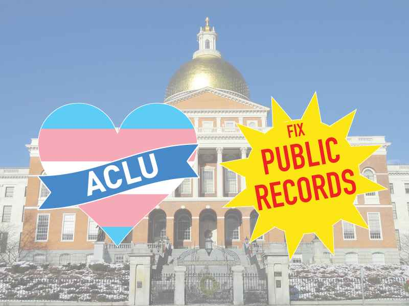 Transgender Rights Victory Fix Public Records Graphic