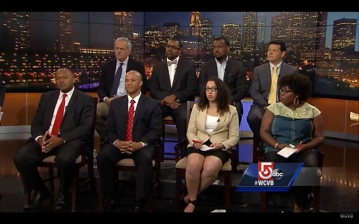 Rahsaan Hall on panel - WCVB Channel 5 Screenshot - July 15 2016