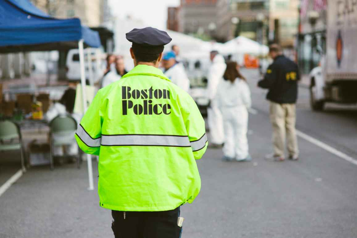 Boston Police Officer