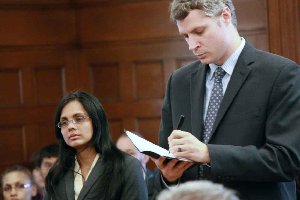 Annie Dookhan and attorney