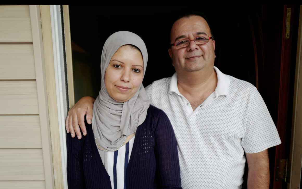 Ghassan and Nadia Alasaad