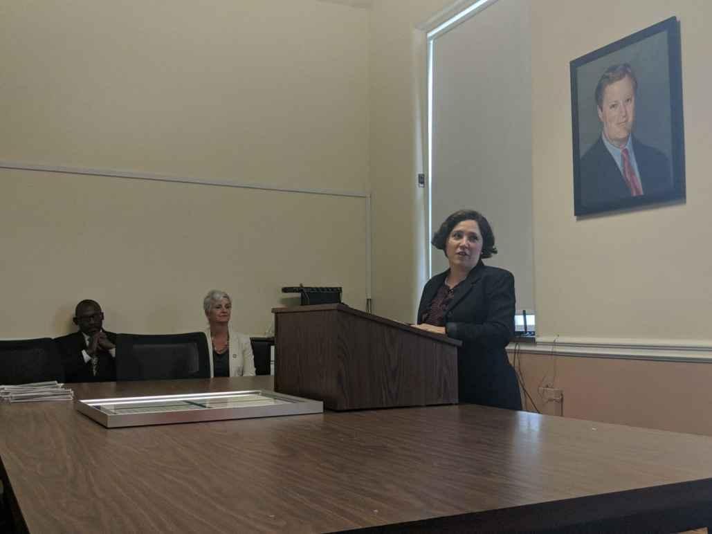 Laura Rotolo Speaks at Medford City Hall