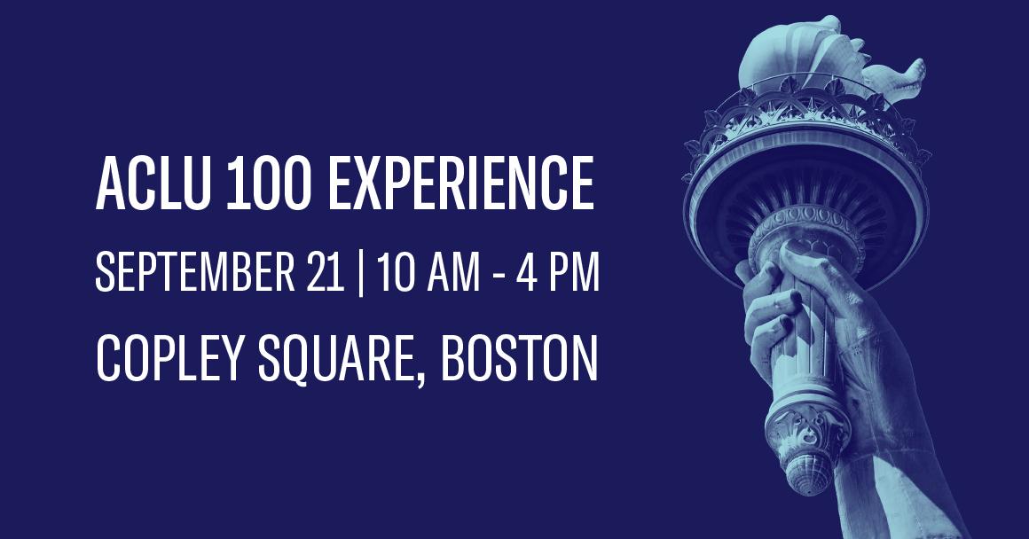 ACLU100 Experience
