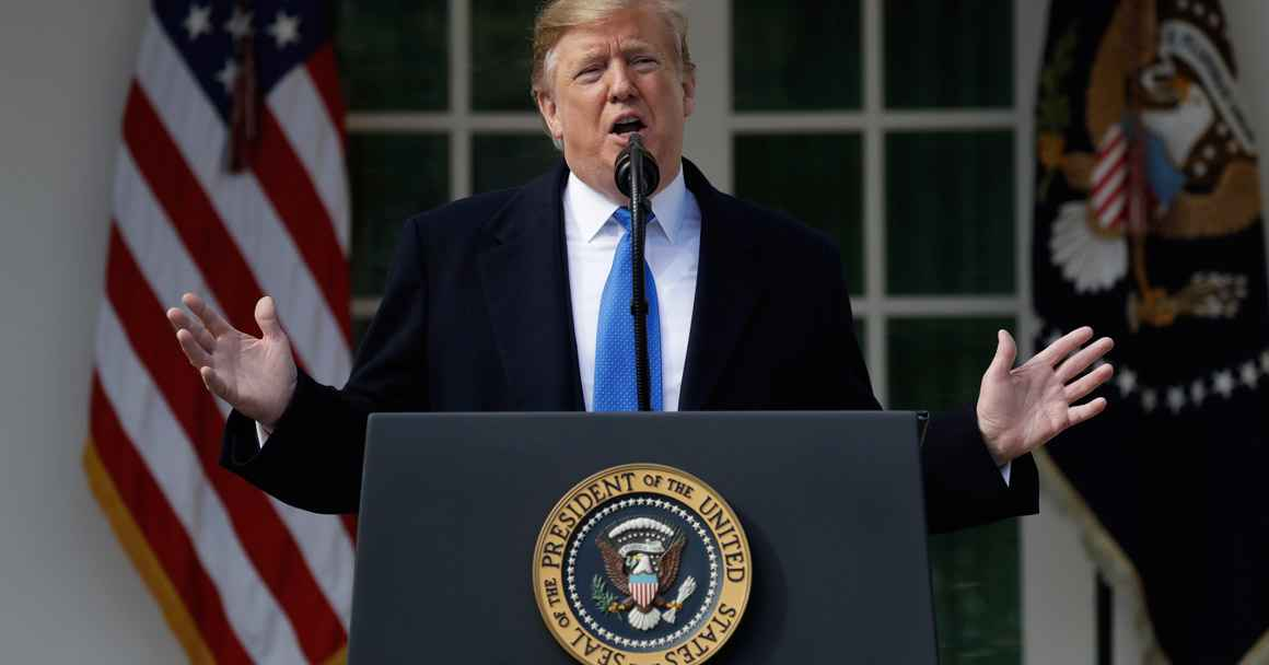 Trump Declaring National Emergency